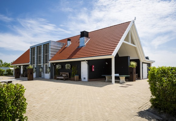 New sanitary building